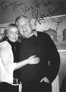 Tony Flood with Patsy Kensit